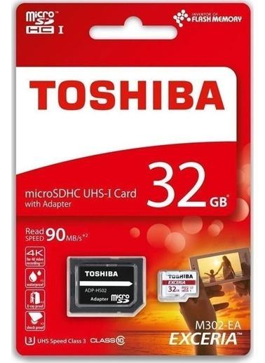 Toshiba 32Gb Mıcro Sdhc Uhs-1 U3 90Mb/Sn (Excerıa Renkli